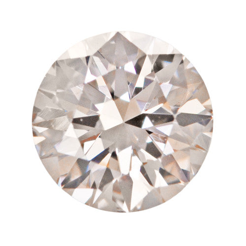 0.38 Carat Very Pale Brownish Pink Loose Diamond | Natural Color Round Brilliant VS2 Clarity