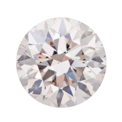 0.39 Carat Loose Pale Pink Diamond | Natural Color Round Brilliant SI1 Clarity