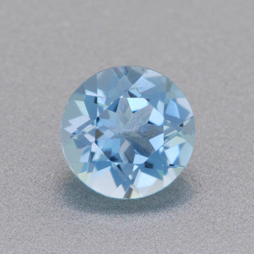 Loose 0.32 Carat Natural Round Aquamarine Gemstone | 4.6mm