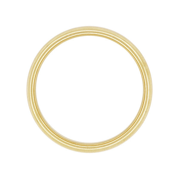Tiffany & Co Lucida Wedding Band 3mm Wide in 18K Yellow Gold Ring Size 6 - Item: R1221Y18 - Image: 1