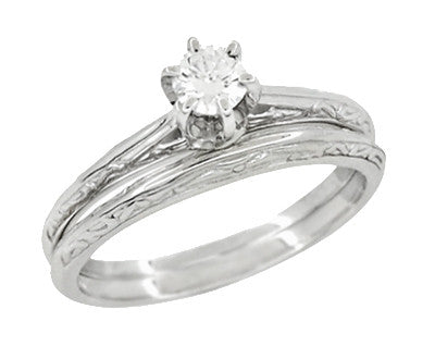 Wedding Ring Sets For Women Vintage Bridal Sets Antique Jewelry Mall