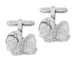 Shih-Tzu Cufflinks in Sterling Silver