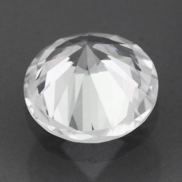 Loose Natural 0.55 Carat Round White Sapphire | 5mm Round Brilliant - Item: SW001305 - Image: 1