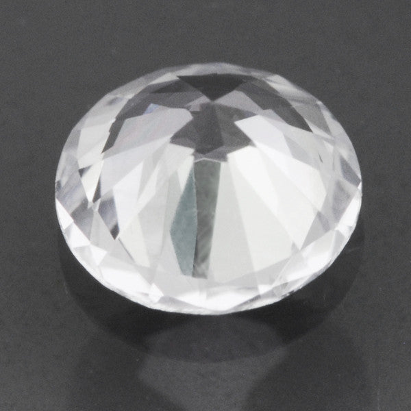 0.30 Carat Fine Loose White Sapphire Round Brilliant | 4.1mm | Natural Ceylon - Item: SW003238 - Image: 1