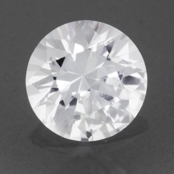 0.30 Carat Fine Loose White Sapphire Round Brilliant | 4.1mm | Natural Ceylon