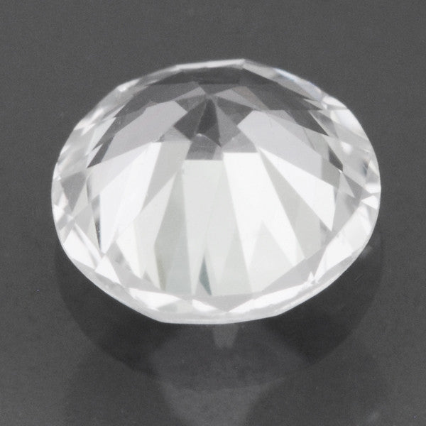 6mm Round White Sapphire | 0.73 Carat Loose Natural Ceylon White AAAA Gemstone - Item: SW003211 - Image: 1