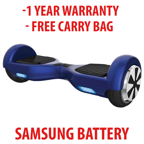 GROUND GLIDER Hoverboard ( BLUE )