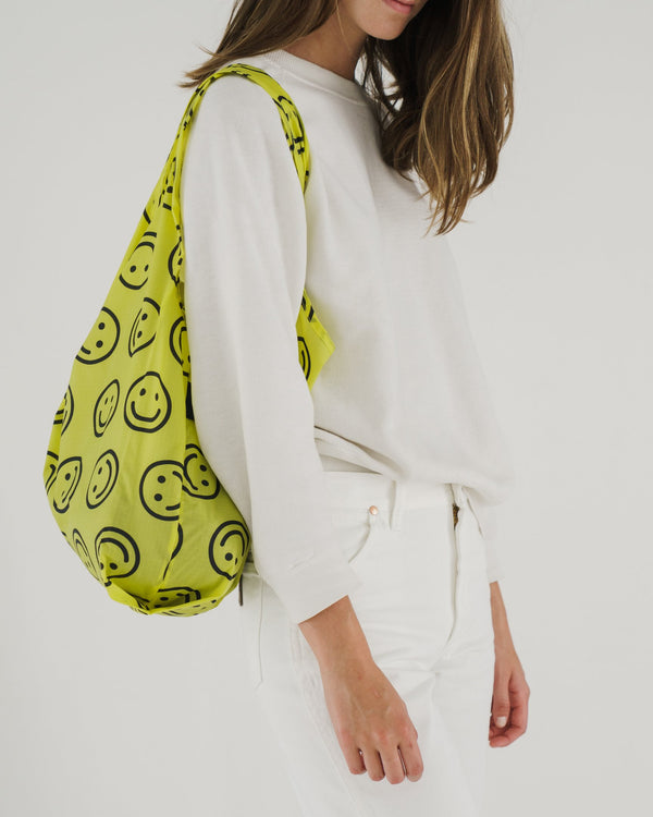Baggu, Standard Baggu - Yellow Happy - ROCKET SHOP LONDON