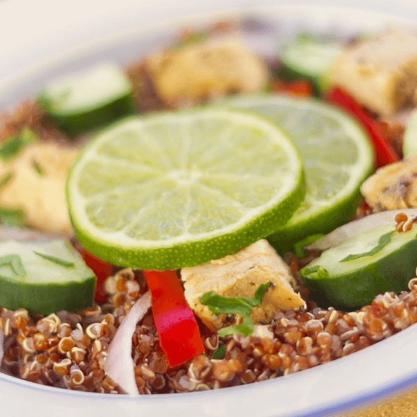 Turkey And Quinoa Salad
