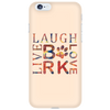 Image of Dog Lovers Bark Laugh Love Live Phone Case