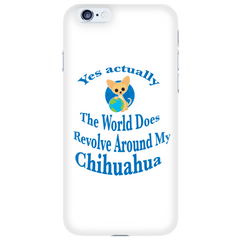 Chihuahua Phone Case 'Yes Actually""