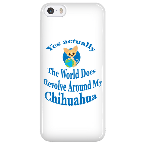 Chihuahua Phone Case 'Yes Actually