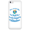 Image of Chihuahua Phone Case 'Yes Actually""