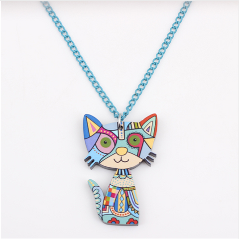 Cat Pendant Necklace