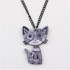 Image of Cat Pendant Necklace