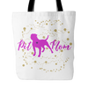 Image of Pit Mom Pit Bull Lovers Tote Bag