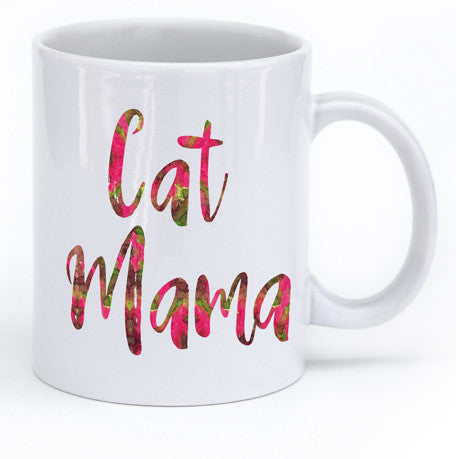 Cat Mama Cat Lovers Mug