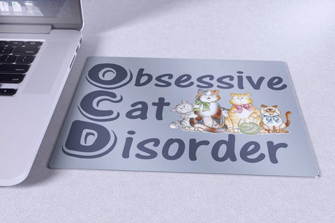 "Cats - Cat Design Mousepad ""OCD Cats"""