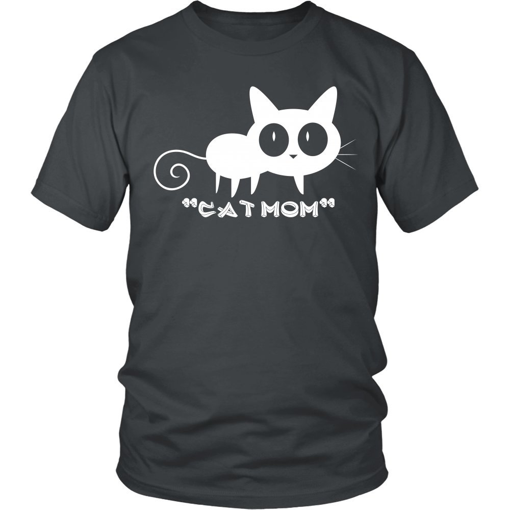 "Cats - Cat ""MOM"" District Unisex T-Shirt"