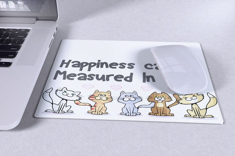 "Cats - Cat Mousepad Design ""Happiness"""
