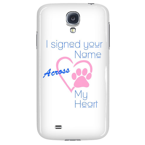 "Cats - Cat Phone Case ""I Signed Your Name"""