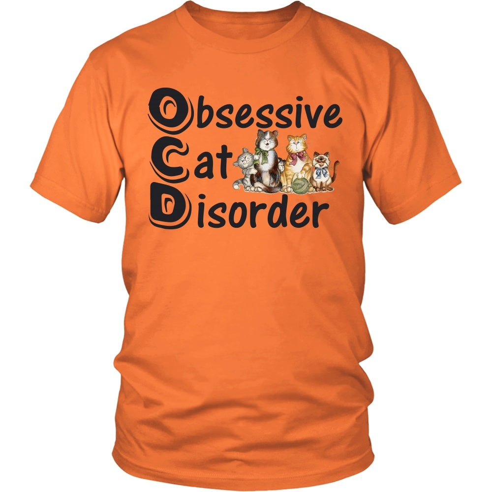 "Cats - Cat T-Shirt Design ""OCD Cats"""