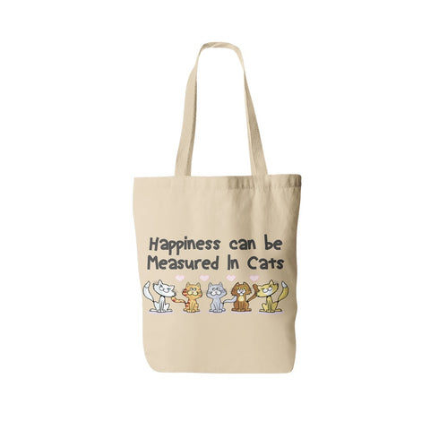 "Cats - Cat Tote Bag Design ""Measured In Cats"""