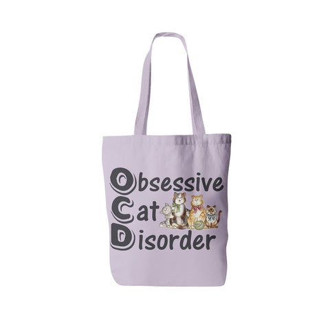 "Cats - Cat Tote Bag Design ""OCD"""