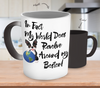 Image of Boston Terrier World Revolves Color Changing Mug