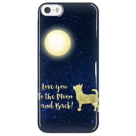 Chihuahua Phone Case To The Moon