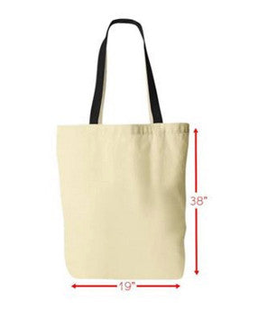 "German Shepherd - German Shepherd Tote ""Happiness Is A German Shepherd To Love"""