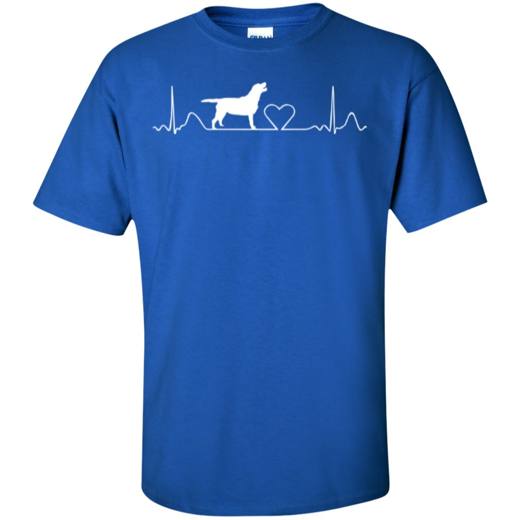 Labrador Retriever HeartBeat Design T-Shirt