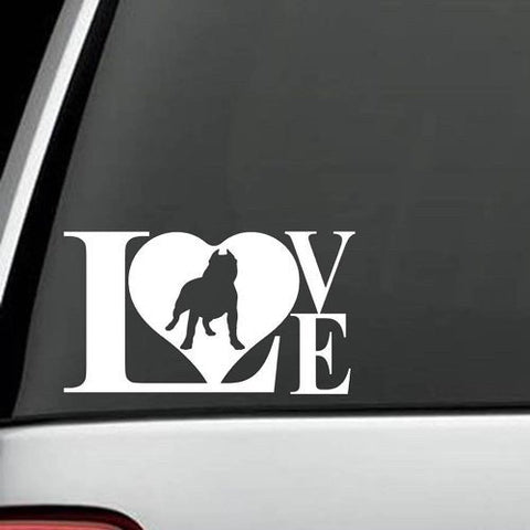 Pit Bull - Pit Bull LOVE Decal