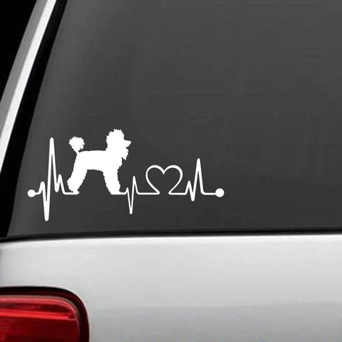 "Poodle - Poodle ""HeartBeat"" Exclusive Decal"