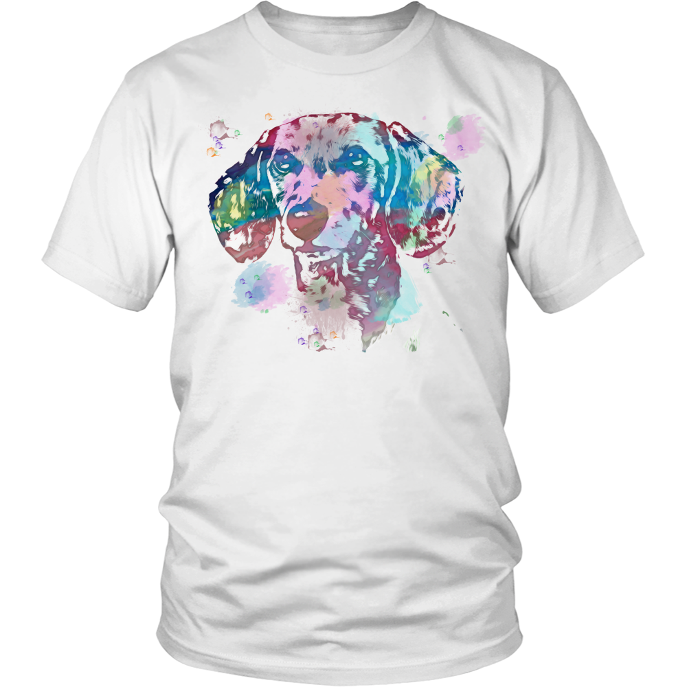 Dachshund Water Color Portrait Tee