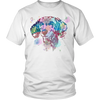 Image of Dachshund Water Color Portrait Tee