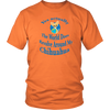 "Image of Chihuahua T-Shirt ""The World Does Revolve"""