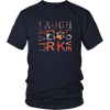 Image of Dog Lovers Live Laugh Love Bark Tee