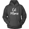 Image of Cat Mama Cat Lovers Hoodie