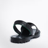 Crocodilia Black Goya Slide