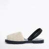 GOYA Crudo Shearling Slide