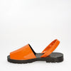 Ochre Patent Leather Goya Slide