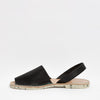 GOYA Playa | Black Lizard Stamped Leather