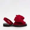 GOYA Ruby Red Velvet Bow
