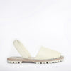 Off White Pebbled GOYA Slide