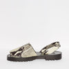 COMING SOON | GOYA Grey Snakeskin Sandal