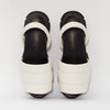 GOYA Ice White Quilted Sporty Sandal