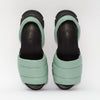 GOYA Mint Green Quilted Sporty Sandal