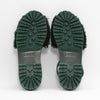 Goya Bosque Green Shearling Slide Soles
