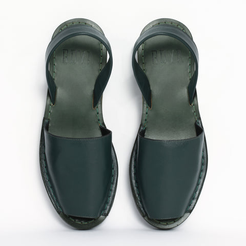 Bosque Green Nappa Goya Slide